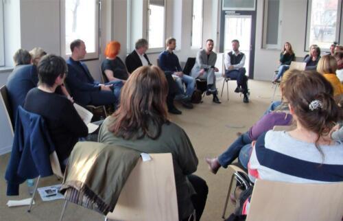 26.04.2018 - Diskussionsrunde mit OB-Kandidat*innen