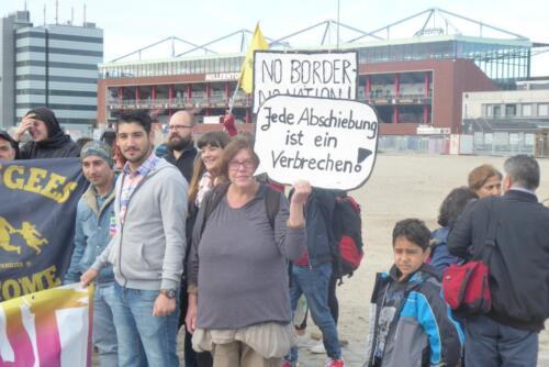 26.09.2018 - We'll Come United-Parade und -Demonstration in Hamburg