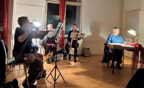 Christine Theml stellte am 25.09.2019 die Pianistin und Komponistin Clara Wieck-Schumann vor. Ilga Herzig & ihre Schülerinnen musizierten.